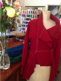 A Sewing Emporium overlocked jacket.